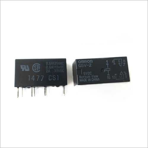 2A 5VDC Signal Relay Sealed Standard DPDT