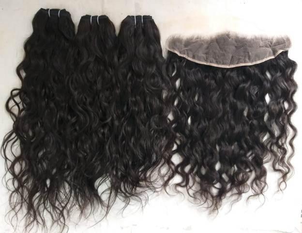 Raw Human curly Malaysian Hair