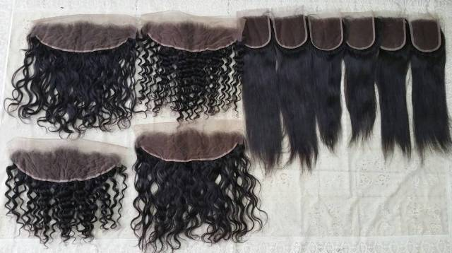 Lace Curly Frontal Human Hair