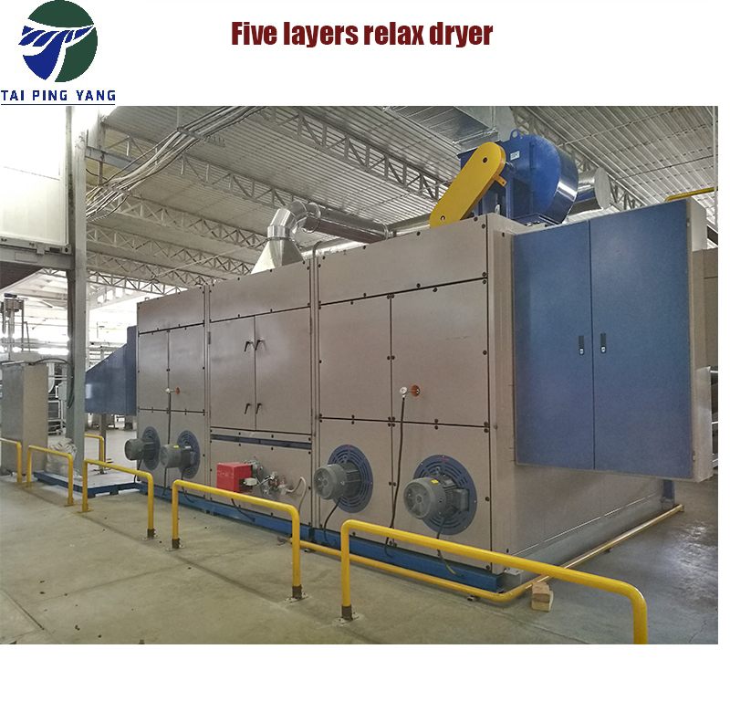 Thermal Oil Natural Gas Steam Heated Tensionless Dryer