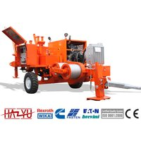 TY30D Max Pull 35kN Stringing Equipment Hydraulic Puller Deutz Air Cooled Cooling System