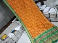 Banarasi Saree Orange With Green