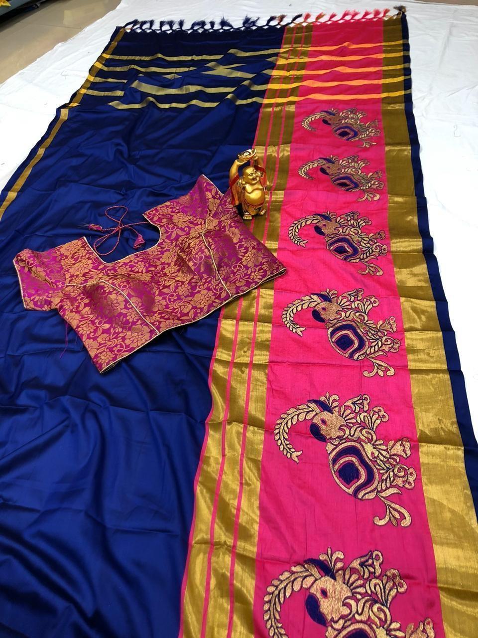 Surat Pure silk cotton Saree