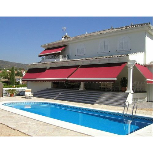 Pool Side Retractable Awnings
