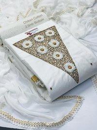 Designer dress material