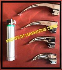 Fiber Optic Laryngoscope Green Standard Macintosh Blades