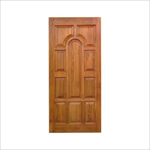 10 Panel Wooden Door