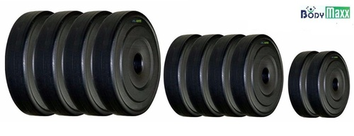 Pvc Weight Plates Black Color