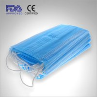 3 Ply Disposable Face Mask With Nose Wire