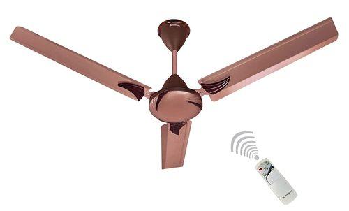 LONGWAY  Creta Anti Dust With Wireless Remote Control 1200 MM HIGH Speed (100% Copper) Ceiling Fan - 400 RPM - 2 Years Warranty (Color -Rusty Brown) IN DELHI