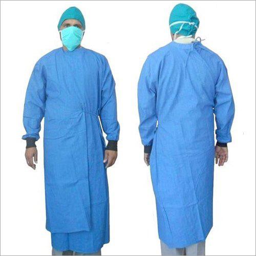 Hospital OT Gown Overlap