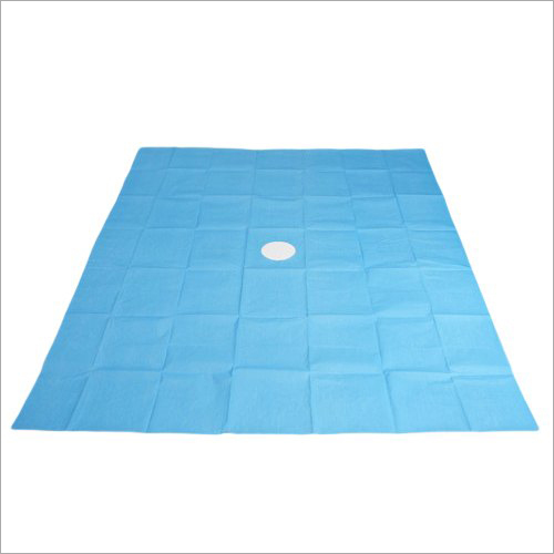 Operation Theatre Hole Surgical Cotton Sheet