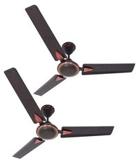 LONGWAY® NEXA Super Anti Dust 1200 MM HighSpeed (100% Copper) Ceiling Fan - 400 RPM -2 Years Warranty (Brown) Pack of 2
