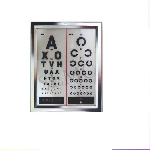 LED Vision Chart