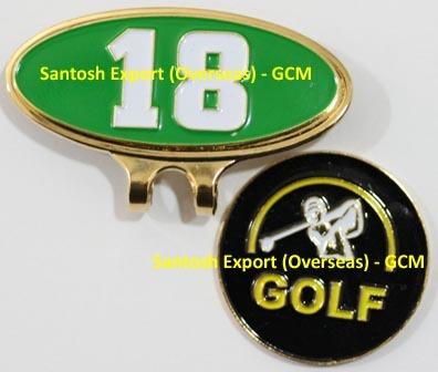 Golf Hat Clip Ball Marker