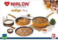 Nirlon Orange Flamy Cookware Gift Set