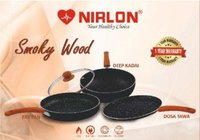 Nirlon Smoky Wood Cookware Gift Set