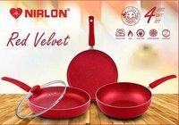 Nirlon Red Velvet Cookware Gift Set