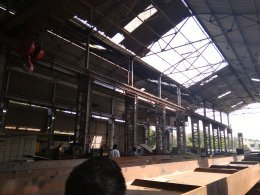 Open Web Girder Fabrication