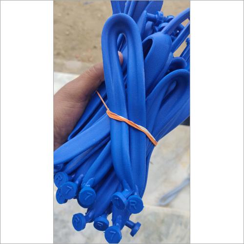 Aqua Rubber Straps