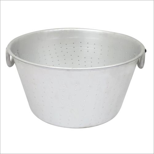 Aluminium Rice Strainer with Handle