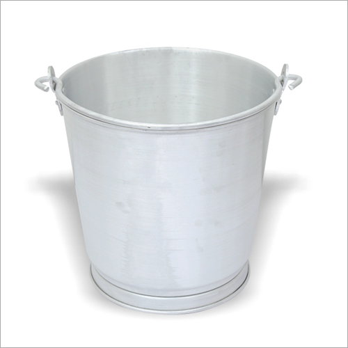 Plain Aluminium Bucket