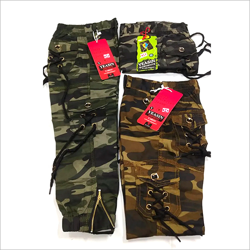 Kids Camouflage Pant