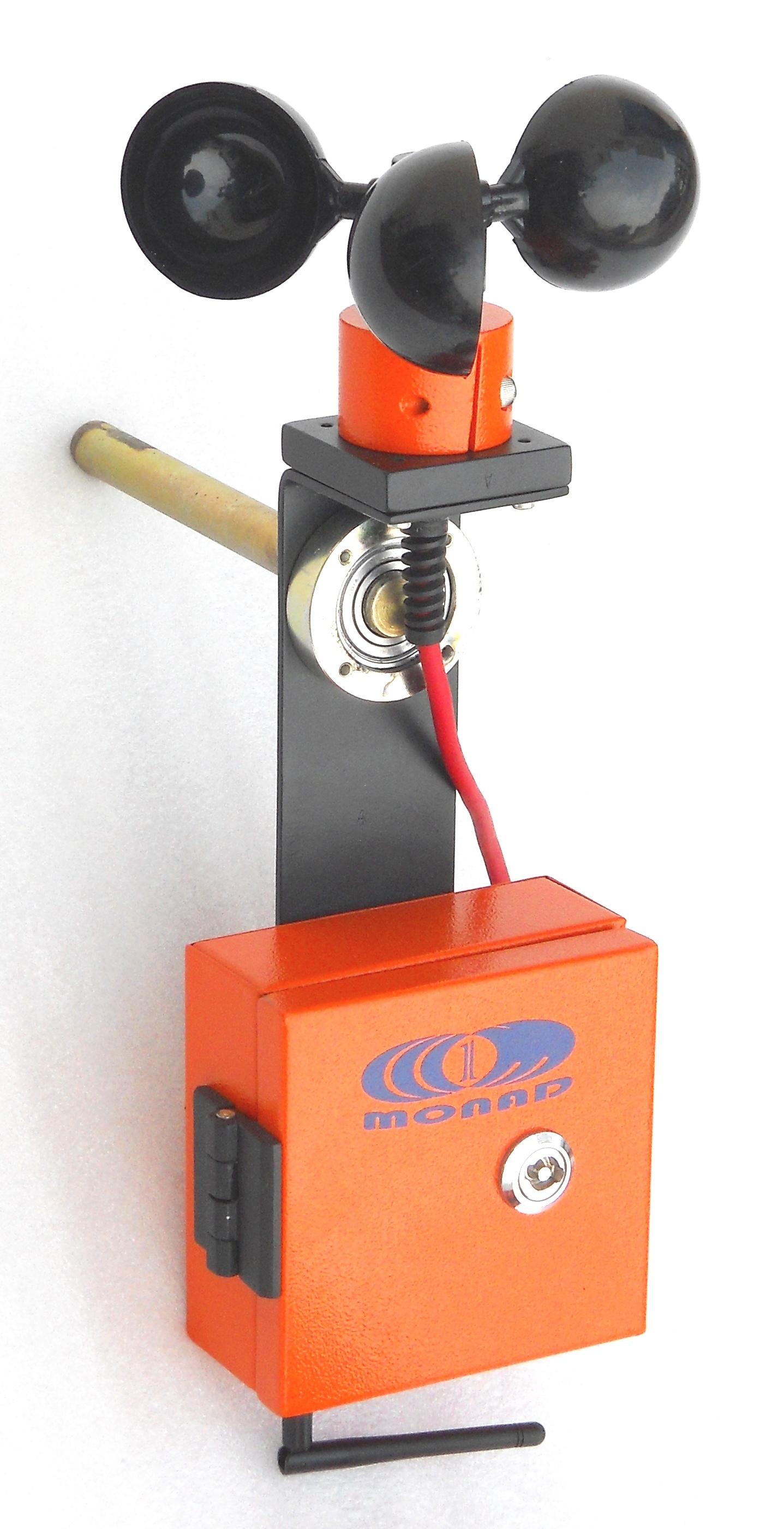 Wireless Wind Speed Sensor