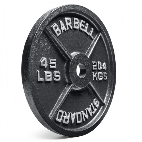 Cast Iron Challenge Weight Lifting Plates