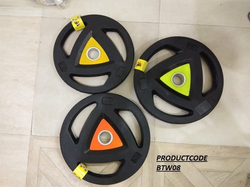 Rubber Coated Weight Lifting Plates