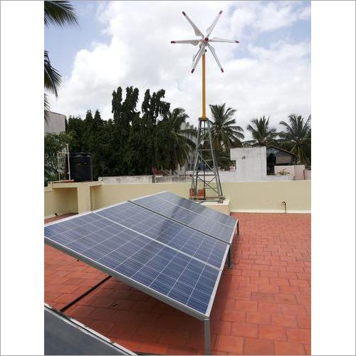 Wind Solar Hybrid Power Plant
