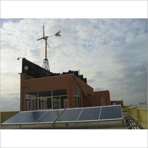 Domestic  Windmill Hybrid System