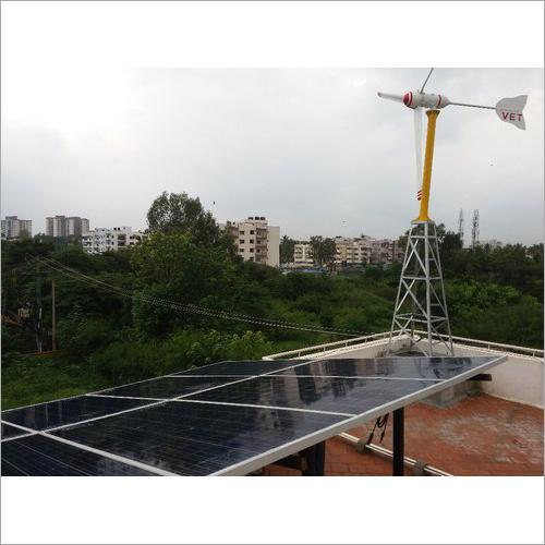 Residential Wind Solar Hybrid System
