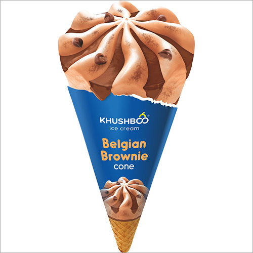 Belgian Brownie Cone