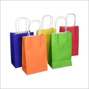 Plain Paper Shopping Bags