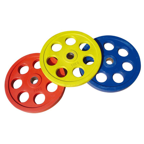 Rubber Coated 7 Hole Plates