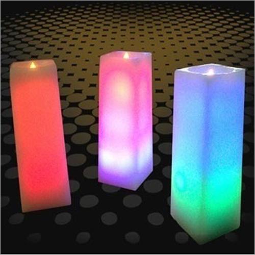 Blazing Pillar Candles
