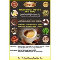 500 gm Zingysip Anti Viral Coffee As Immunity Booster With Burnt Sugar & Vitamins