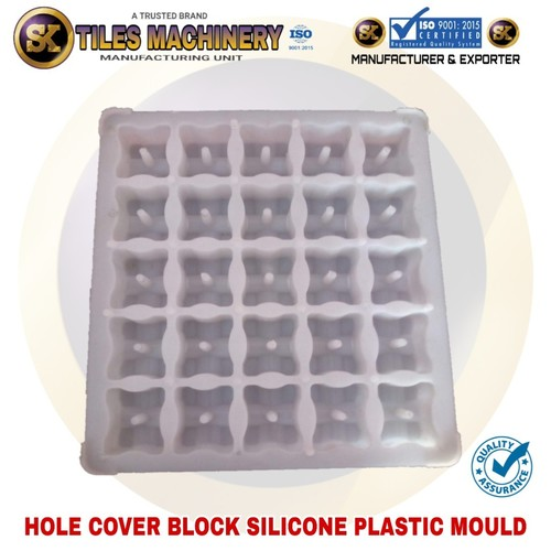 Hole Cover Block Silicone Plastic Mould