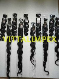 Weft Remy Hair