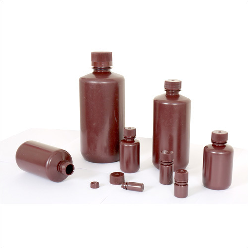 HDPE AMBER REAGENT BOTTLES