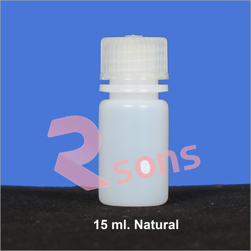 15 ml HDPE NATURAL BOTTLE