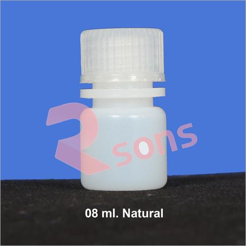 08 ml HDPE NATURAL BOTTLE