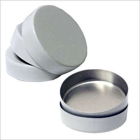 40 MM Aluminum Cup For Pelletizing Samples