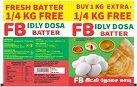 Idly Dosa Batter Packing