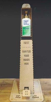 Pinewood Soap Dispenser