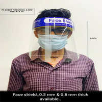 Clear Compact Polycarbonate Face Shield