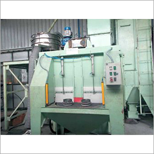 Table Blasting Machine