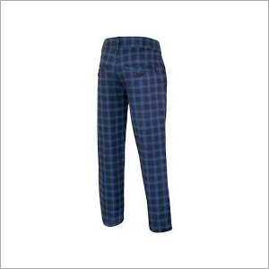 Mens Checked Pant