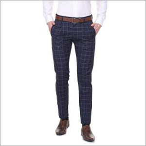 Mens Checked Trouser